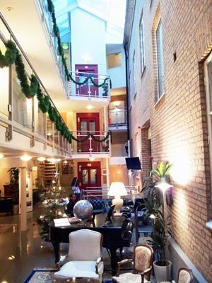 Merry Christmas Happy New Year Hotel Concordia